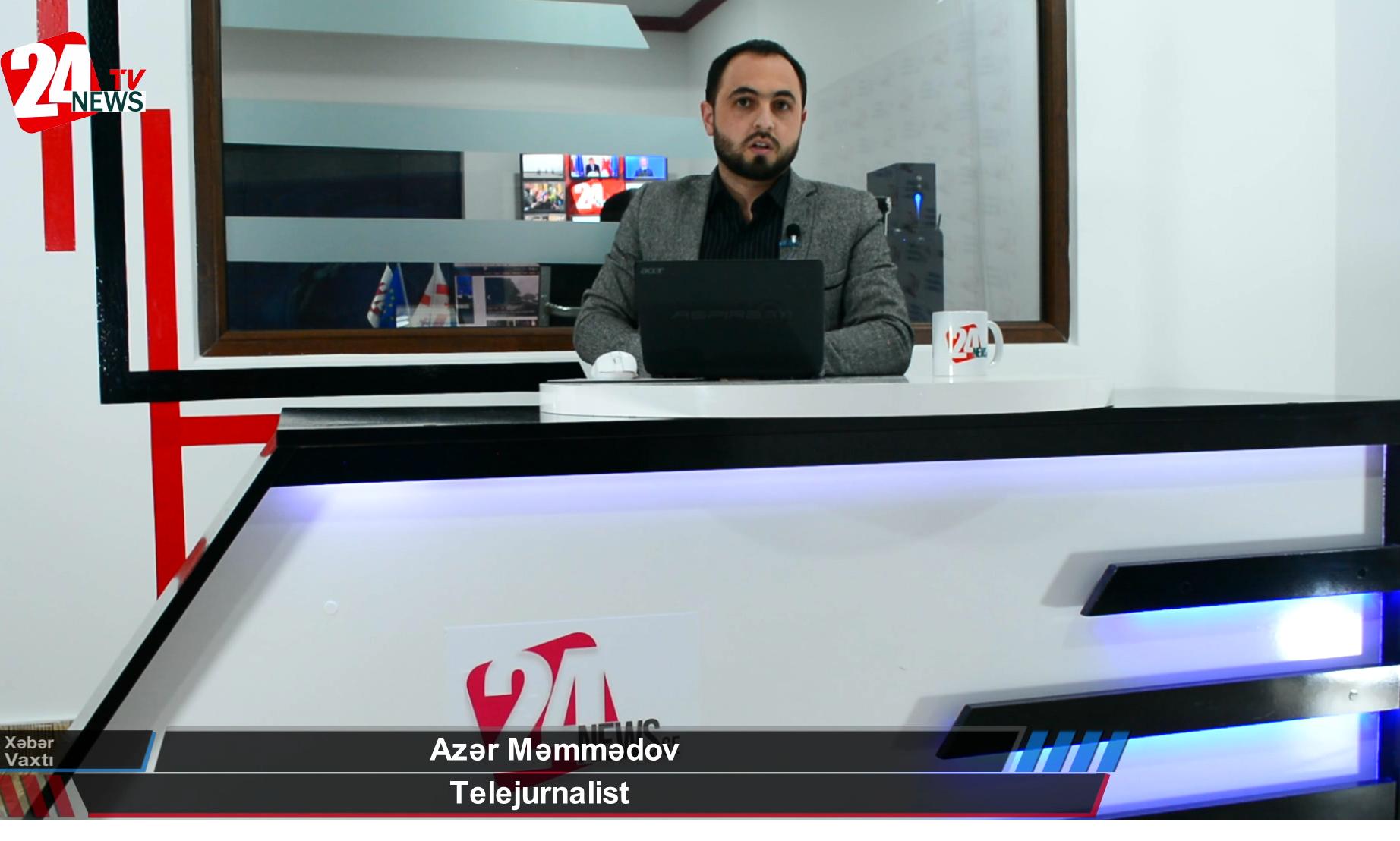 24News Tv-də Xəbər Vaxtı (12.04.2021) - (VİDEO)